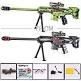 CM continuous-bullet sniper rifle nerf gun soft bullet toy gun for children boys Can be assembled or uninstall