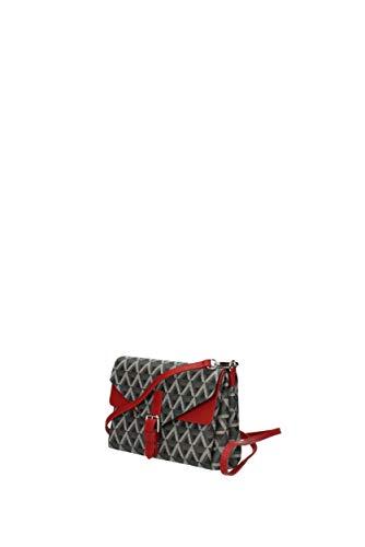 51841 Femme bandoulière Noir Tissu Sacs Lancaster EgIxUU