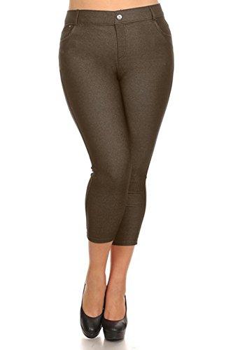 belle-donne-womens-pants-capri-jeggings-cotton-blend-solid-colors-armygreen-xl