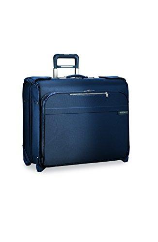 Briggs & Riley Lightweight Garment Bag - Briggs & Riley Baseline Deluxe Garment Bag, 2 Wheel, Navy