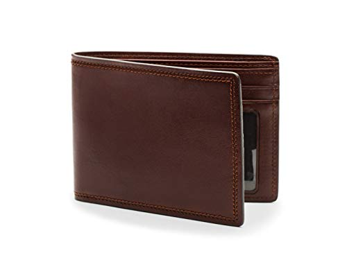 Bosca Men's Executive Wallet in Dolce Leather - RFID