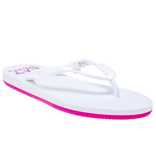 Emporio Flop Sandalo Active Armani Core Bianco Bianco Donna Flip W 1rP1wB