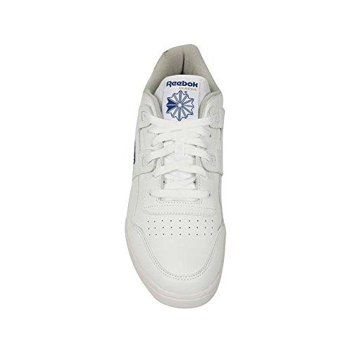Schnürschuhe Königsblau Sneaker Plus Weiß Sportschuhe Workout Reebok Herren xvwppq