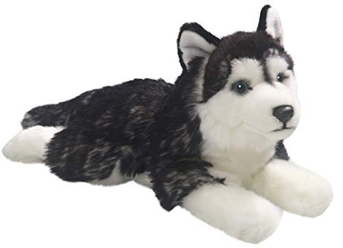 Carl Dick Husky 14 inches, 32cm, Plush Toy, Soft Toy, Stuffed Animal 2783