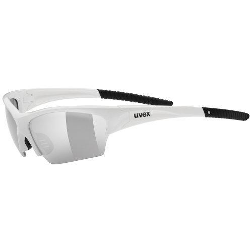 Uvex Sunsation Sunglasses - White/Black by - Sunglass Sunsation