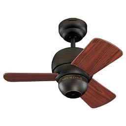 Monte Carlo 3TF24RB, Micro 24 Ceiling Fan, 24\
