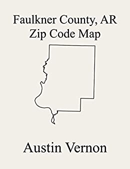 Amazon.com: Faulkner County, Arkansas Zip Code Map: Includes ... on map of preble county, map of du page county, map of gilmer county, map of yazoo county, map of juniata county, map of woodford county, map of white county, map of greenwood county, map of banks county, map of clarke county, map of alexander county, map of glades county, map of iron county, map of saint clair county, map of roane county, map of crittenden county, map of stone county, map of essex county, map of rockbridge county, map of noble county,