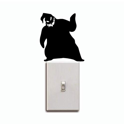 LJTSDA Oogie Boogie Switch Sticker Nightmare Before Christmas Wall Sticker Halloween Wall Decal3pcs]()