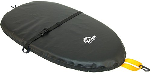 Seals Deluxe Kayak Cockpit Seal 2016 - 5.5/Black (Kayak Cover Deluxe)