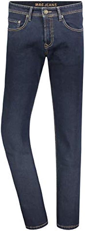 MAC dżinsy męskie Ben Alpha New Basic Denim Straight Jeans: Odzież