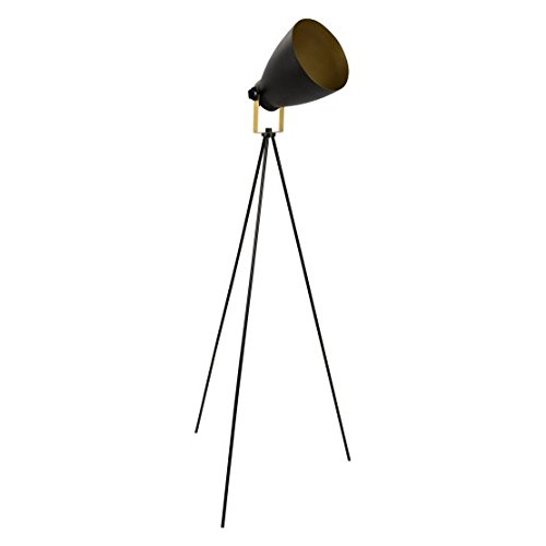 WOYBR LS-L-GRAM BK+AU Metal Material Grammy Reader (Lumisource Contemporary Floor Lamp)