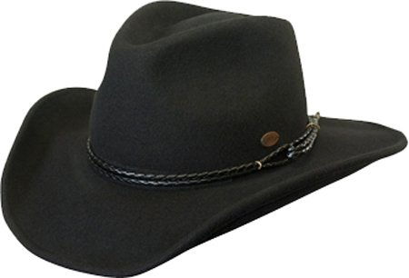 Conner Hats Men s Outlaw Western Shapeable Wool Hat at Amazon Men s ... c0d6d3beb74