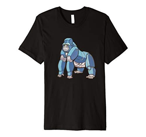 Robot Silverback Gorilla Premium T-Shirt - Alpha ()