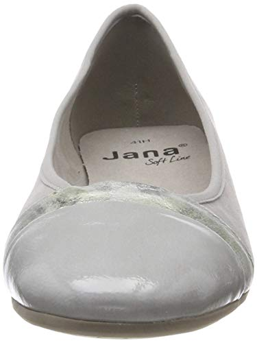 204 Donna Jana lt Grigio Ballerine 22165 8 Grey 22 8 Softline qPgvA