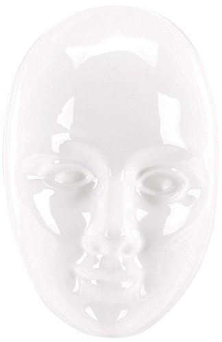 Yaley Plaster Casting Plastic Mold, 6.75 by 8.25-Inch, Face Mask ()