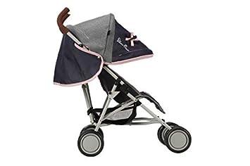 Stoff in Vintage Blue Silver Cross Pop-Puppenbuggy Empfohlen f/ür Kinder zwischen 18 Monate und 3 Jahren.
