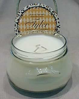 2 X Tyler Glass Jar Candle 22 oz Long Burning Scented Candle French Market Scent