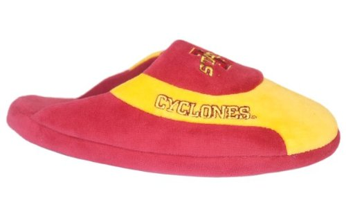 Happy Feet Mens and Womens Officially Licensed NCAA College Low Pro Slippers Iowa State Cyclones iV8kr