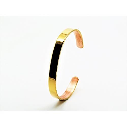 21f5e55349a8 80% OFF Pulsera Cobre Chapado en oro  sabona Francia.Disponible en varios  tamaños