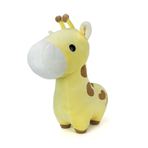 Bellzi Yellow Giraffe Stuffed Animal Plush Toy - Adorable Plushie Toys and Gifts! - Giraffi (Giraffe Yellow)