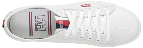 Navy Hansen Women's Canvas Coral 1 Top Low White Helly Oslo White Sneakers Fjord vdqIAvgw