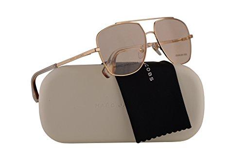 Eyeglasses 58-14-140 Light Gold w/Demo Clear Lens 3YG Marc271 ()