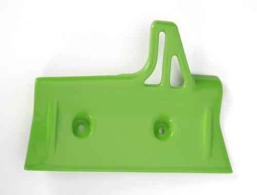 (UFO Plastics Radiator Cover Green for Kawasaki KX 60 84-04)