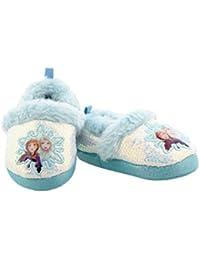 Frozen 2 Elsa Anna Girls Toddler Plush A-Line Slippers