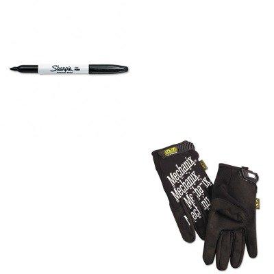 kitmnxmg05012san30001 – Valueキット – Mechanix Wear The Original作業手袋( mnxmg05012 ) and Sharpie Permanentマーカー( san30001 ) B00MOO05FU