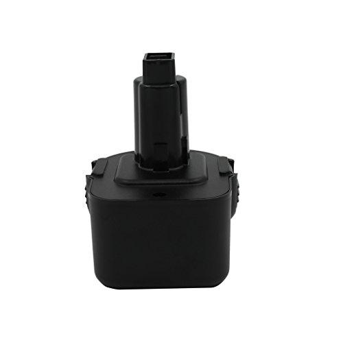 KINSUN Replacement Power Tool Battery 12V 1.5Ah Ni-Cd for Dewalt Cordless Drill Impact Driver DC9071 DE9037 DE9071 DE9072 DE9074 DE9075 DE9501 DW9071 DW9072 152250-27 397745-01 and More (Power Tools Dw980k)
