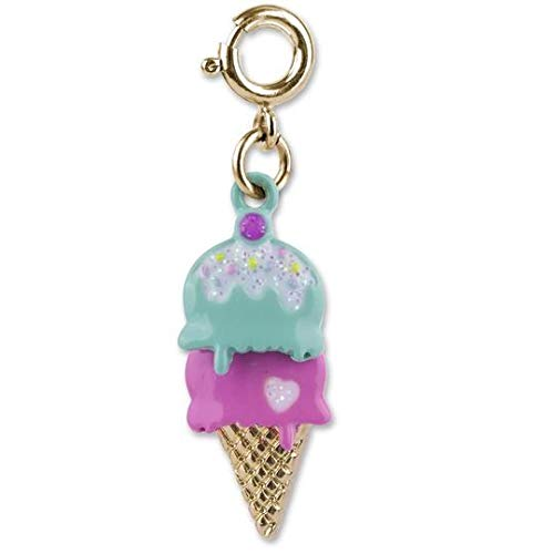 Gold Swivel Ice Cream Cone ()