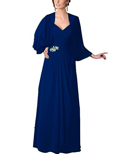 Paillettes Hsd Perles Mère En Mousseline De Soie Des Robes De Mariée Robes De Bal Avec Des Enveloppements Bleuroyale