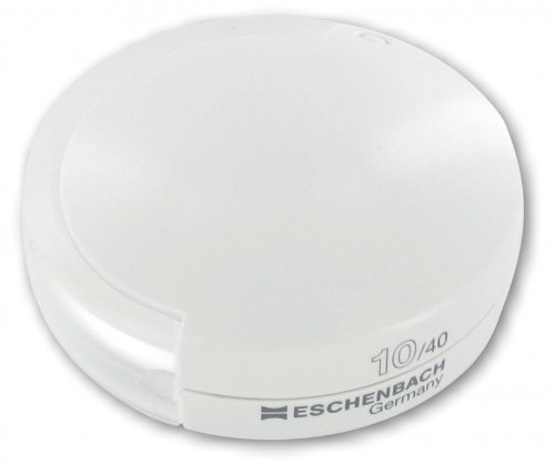 - Heim & Büro Folding Magnifier Eschenbach Mobilent White (10X Magnification)