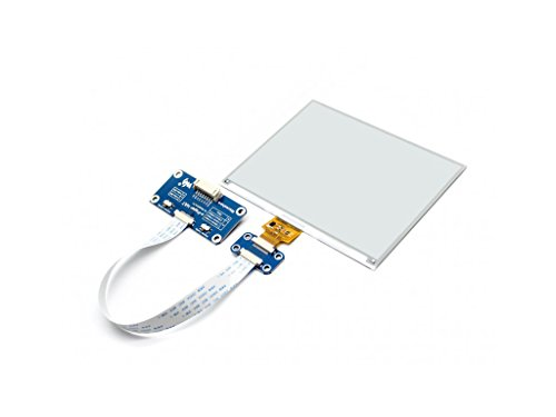 5.83inch E-Paper Display Hat Module 600x448 E-Ink Electronic Paper Screen Two-Color Black/White Compatible with Raspberry Pi Zero/Zero W/Zero WH/2B/3B/3B+ by waveshare (Image #3)