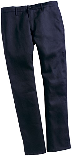 TWIN-PACK - TWO PAIRS OF FR WORK PANTS - SAF-TECH Flame Resistant 9oz. INDURA ULTRA SOFT Jean Style Work Pant - HRC 2 - MADE IN THE U.S.A. - NAVY BLUE (Waist=56 - Inseam=34) by Saf-Tech