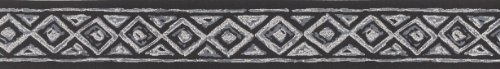 Selbstklebende Tapetenbordüre 3568-07 schwarz