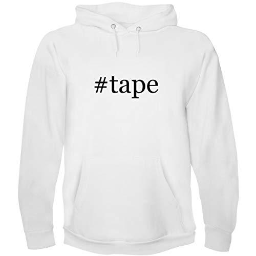 The Town Butler #Tape - Men's Hoodie Sweatshirt, White, Small