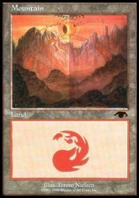 Magic: the Gathering - Mountain - Guru - Guru Land Promos