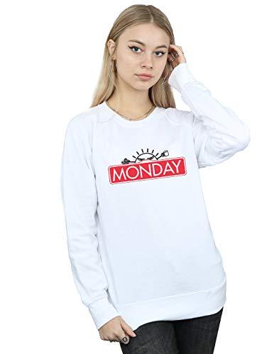 Entrenamiento Blanco De Ntesign Monday Mujer Camisa Small Game UTC4w6