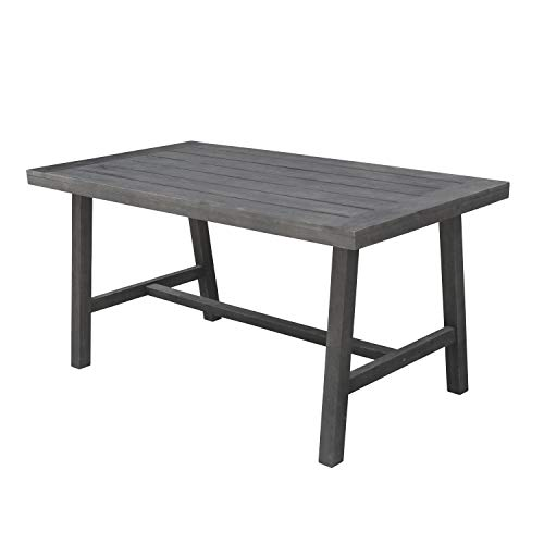 (Renaissance Patio Picnic Dining Table in Vista Gray)