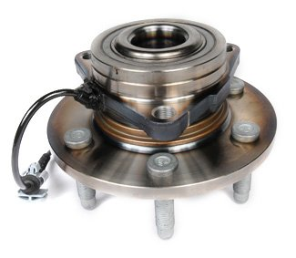 ACDelco FW346 GM Original Equipment Front Wheel Hub and Bearing Assembly with Wheel Speed Sensor and Wheel Studs ()