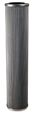 "Schroeder KKZ25 Z-Media Hydraulic Filter Cartridge, Micro-Glass, Removes Rust, Metallic Debris, Fibers, Dirt; 18"" Height, 3.9"" OD, 1.625"" ID, 25 Micron"