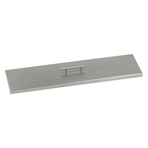 Stainless Steel Linear Channel Cover Fire Pit Cover Burner Lid 39