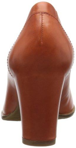 Scarpe Scuro picante Elegante Ecco Marrone Donna Pretoria Pump En0qY0W4fB