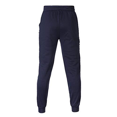 Sportiva Pezzi Leisure Elastici Top Uomo Pantaloni Felpa Per Suit Set Trousers Abcone Tasche Tuta Autunno Uomo Maschi Sportivi Inverno Con Marina Due vOwHYFqw