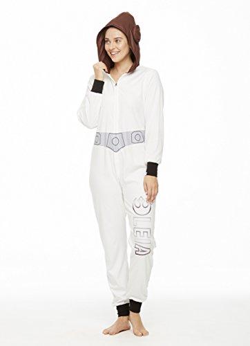 Star Wars Family Pajamas, Womens Princess Leia Blanket Sleeper Onesie | Pajama