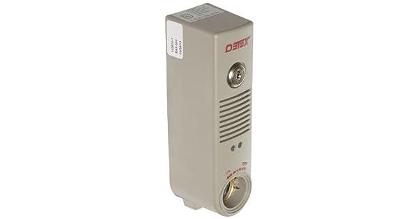 Amazon.com: Detex alarma a batería con soporte de ...