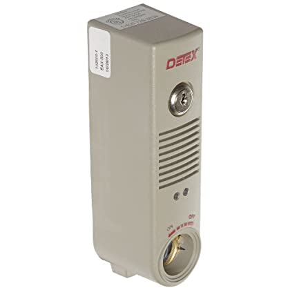 Image of Detex Battery Powered Door or Wall Mount Exit Alarm, 2.10' W x 2.375' D x 7.70' L
