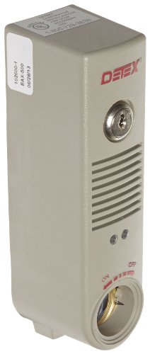 Detex Battery Powered Door or Wall Mount Exit Alarm, 2.10″ W x 2.375″ D x 7.70″ L