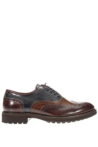 Negro Giardini–Zapatos Hombre allacciato con Pinchazos a604401u-304allacciato con Pinchazos marrón